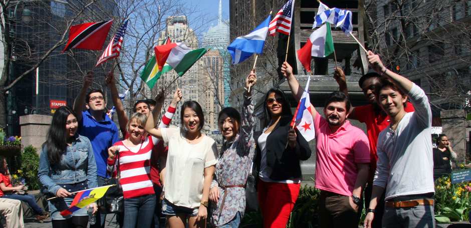 100+ Countries represented by NYLLC international student body
